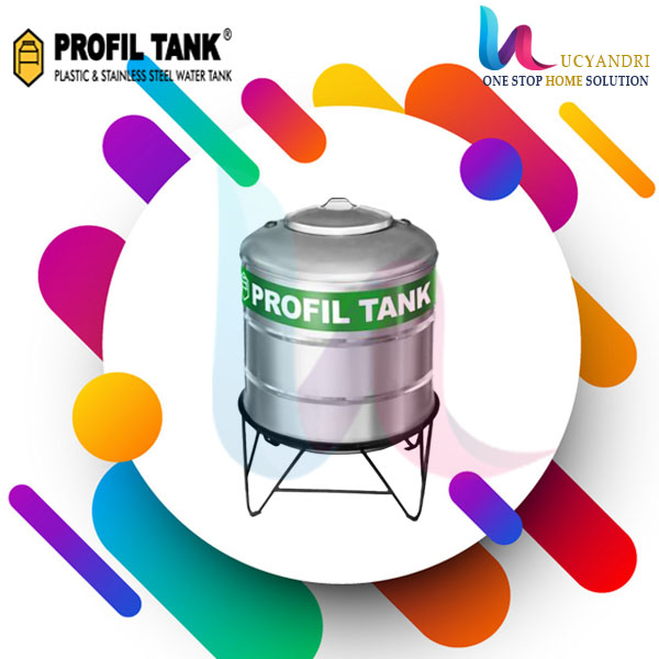 tangki air stainless steel 470 liter