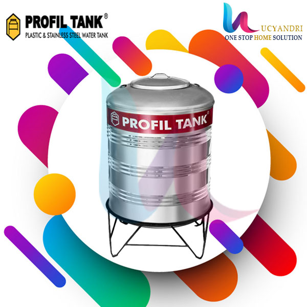 tangki air stainless steel 580 liter