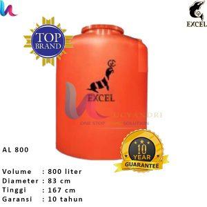 Tangki Air Excel Silinder (AL)