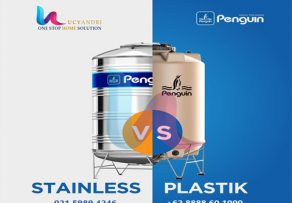 perbandingan tangki air stainless steel dan plastik